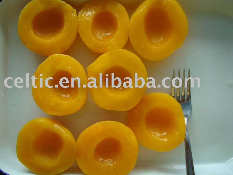 canned peach halves in light syrup