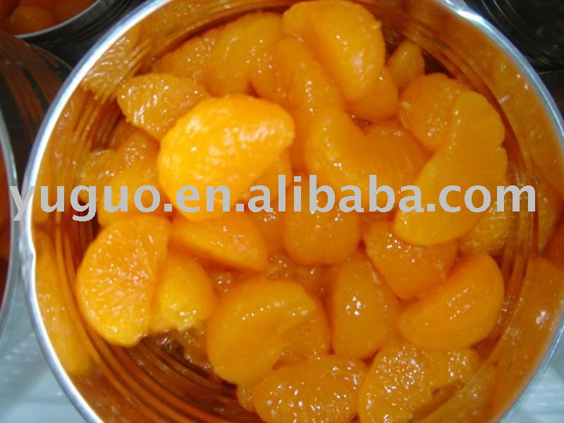 whole mandarin oranges segments in tins