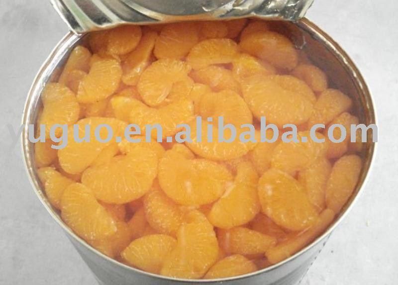 Mandarine Orange whole segments in tins
