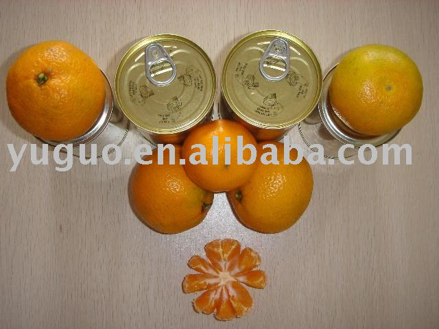 425G CANNED MANDARIN ORANGE WITH EASY OPEN LID