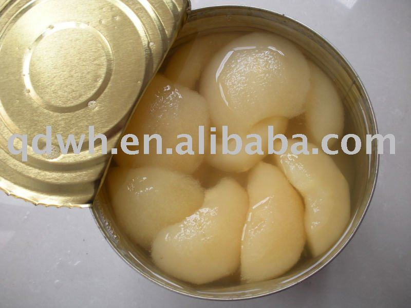 Canned pear halves 425g - 4.5kg in light syrup