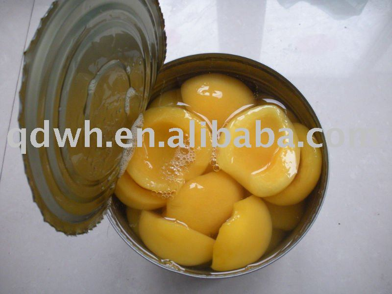 Canned yellow peach / peaches