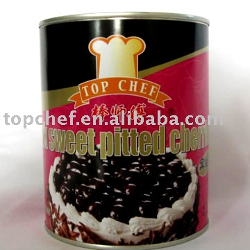 Topchef  Dark Sweet Pitted Cherries