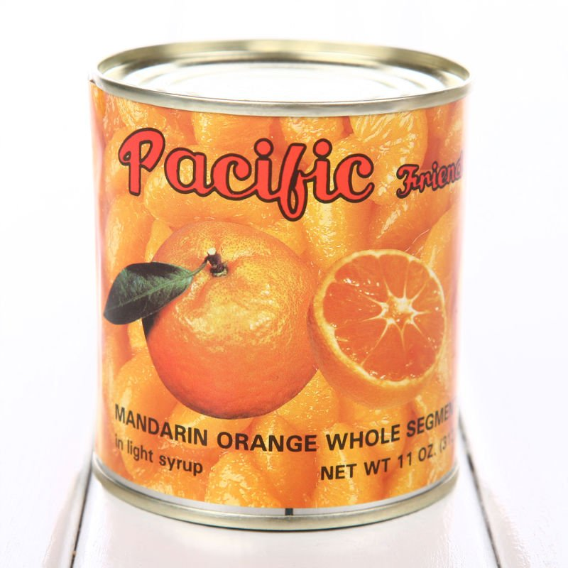 canned fruit-mandarin orange