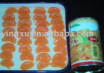 Canned  mandarine orange(canned fruit,canned food)