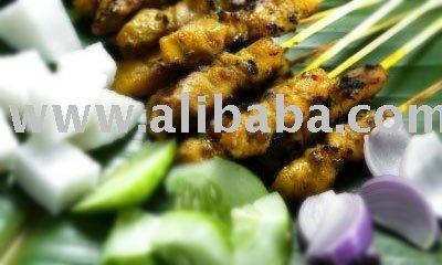 Halal Chicken Satay Frozen Food,
