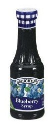 Smucker's Real Fruit Blueberry Syrup - 12 oz  sugar