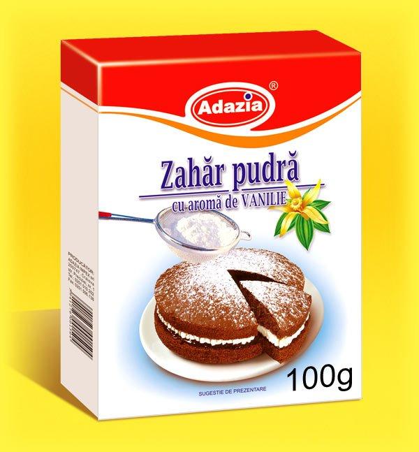 Powder sugar with vanilla flavour