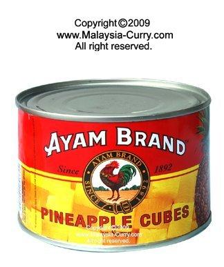 AYAM BRAND- Pineapple cubes