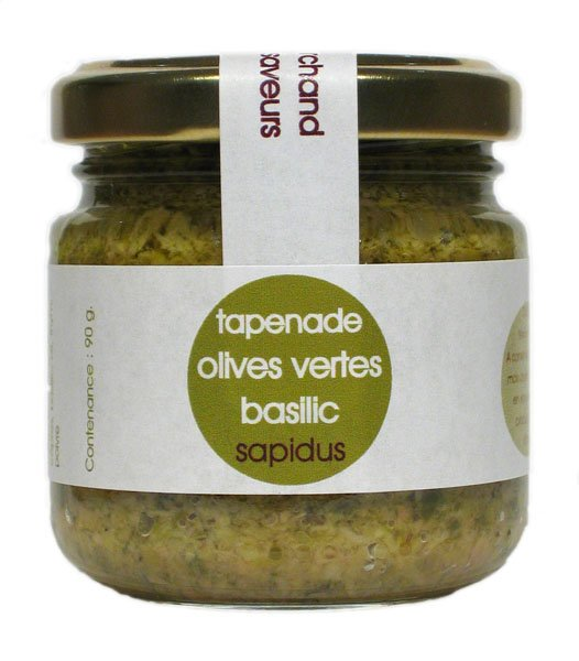 Green Olive With Basil