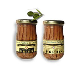 Fredo - Anchovies In Olive/Soya Oil