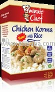 Chicken Korma with Rice - Ready Meal