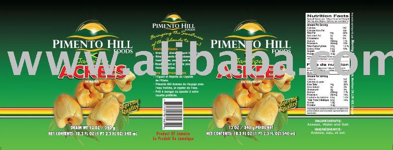 Pimento Hill Foods- JAMAICAN ACKEE