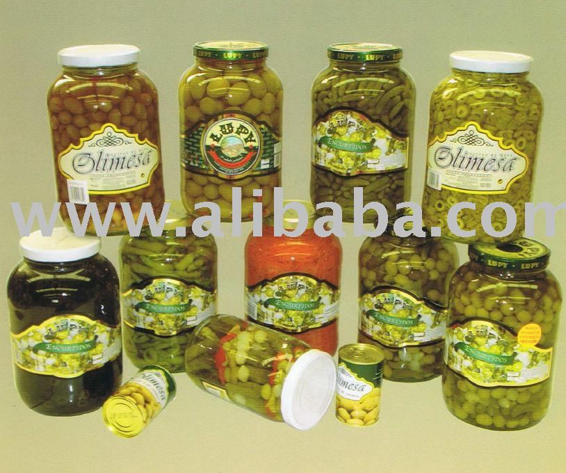 Olives in glass jar-Gallon-Bags