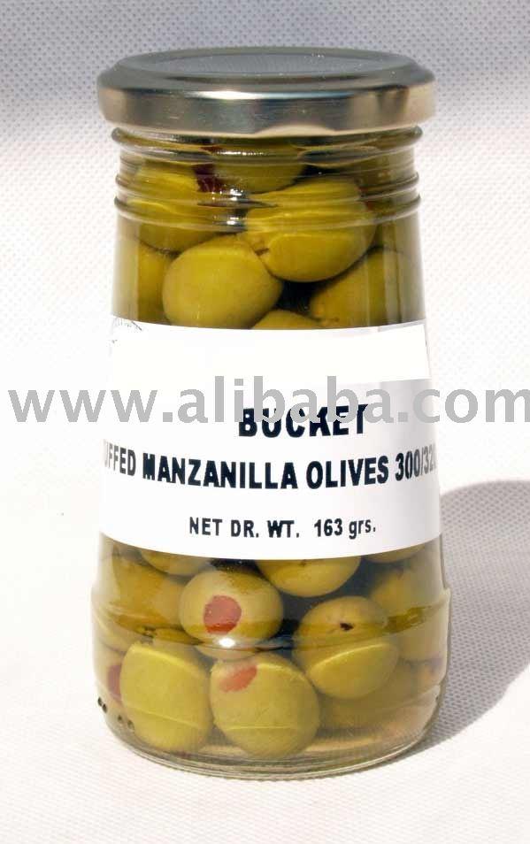 spanish olives in jars