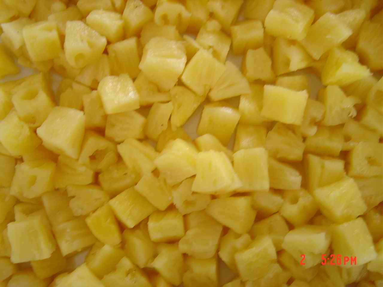 All Tin Sizes Canned Pineapples