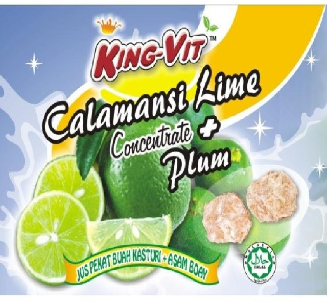 lime   plum concentrated juice