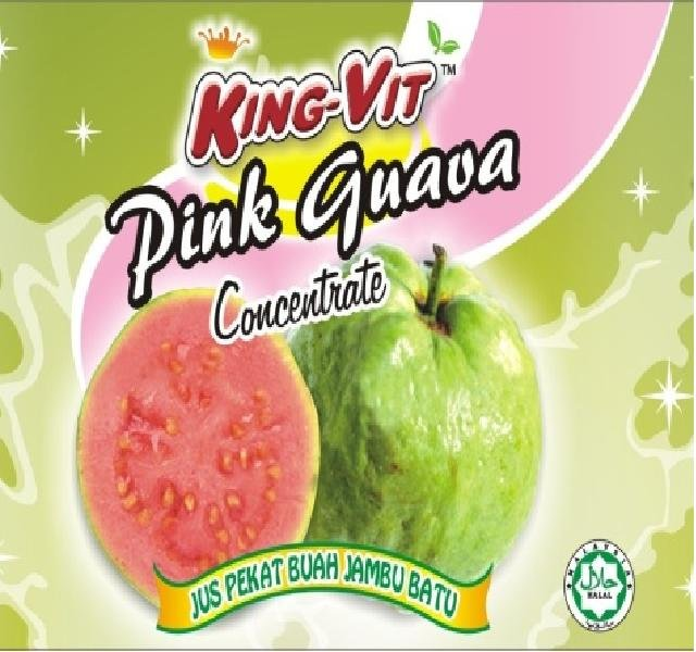 Pink Guava concentrated juice