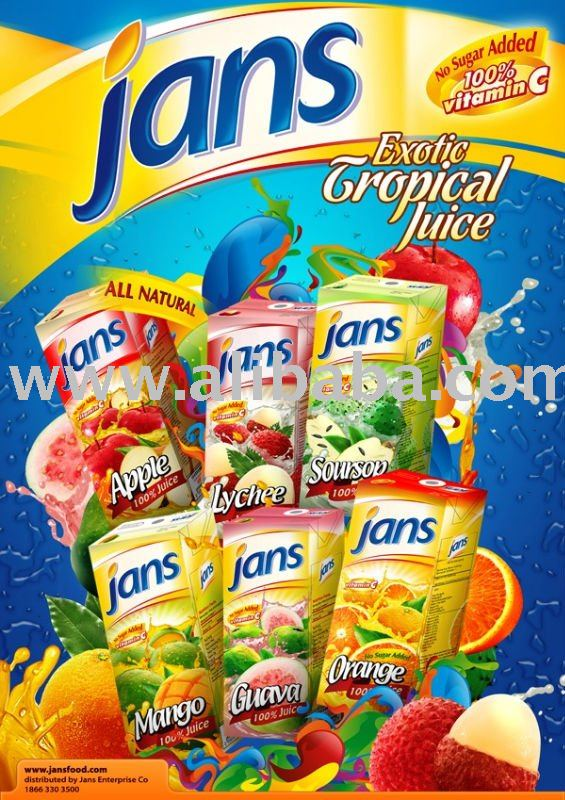 JANS EXOTIC TROPICAL JUICE