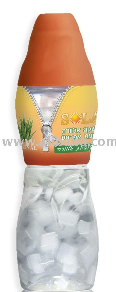Aloe Vera drink fruit flavor