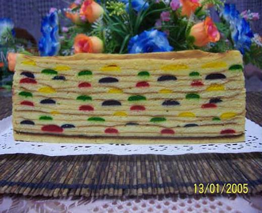 Kek Lapis Bintik
