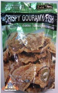 NEW.  Crispy   Fish   Snack   Salid Thong  3.5 oz
