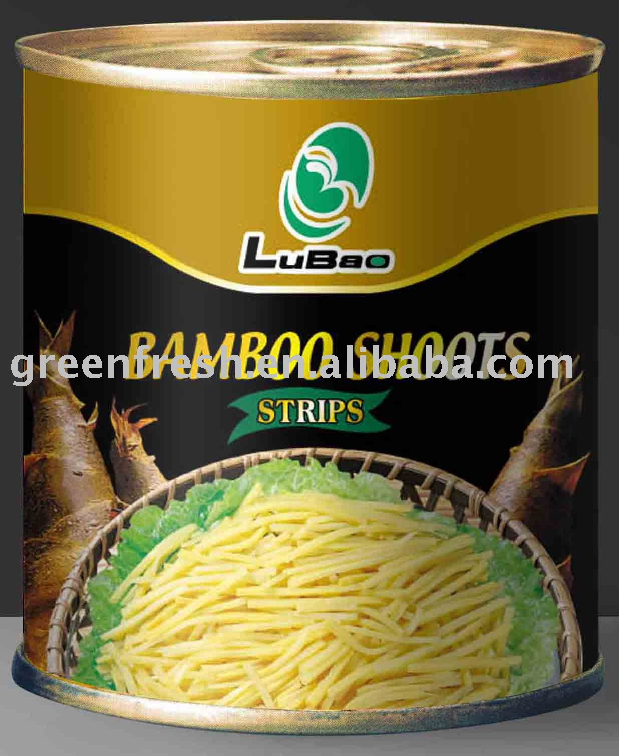 Canned Bamboo Shoots Strips