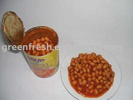Canned White Kidney Beans in  tomato   Sauce   400g /24, dw240g