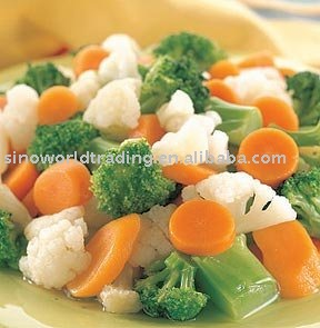 IQF mixed vegetables new crop