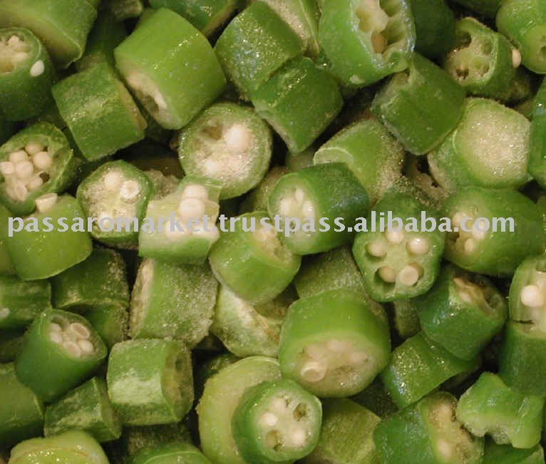 Frozen Iqf Okra Products India Frozen Iqf Okra Supplier