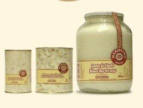 White corn cream