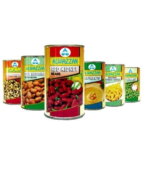 Al Wazzan Canned Vegetables