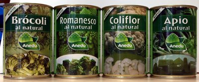 Anedu Patented Canned Vegetables