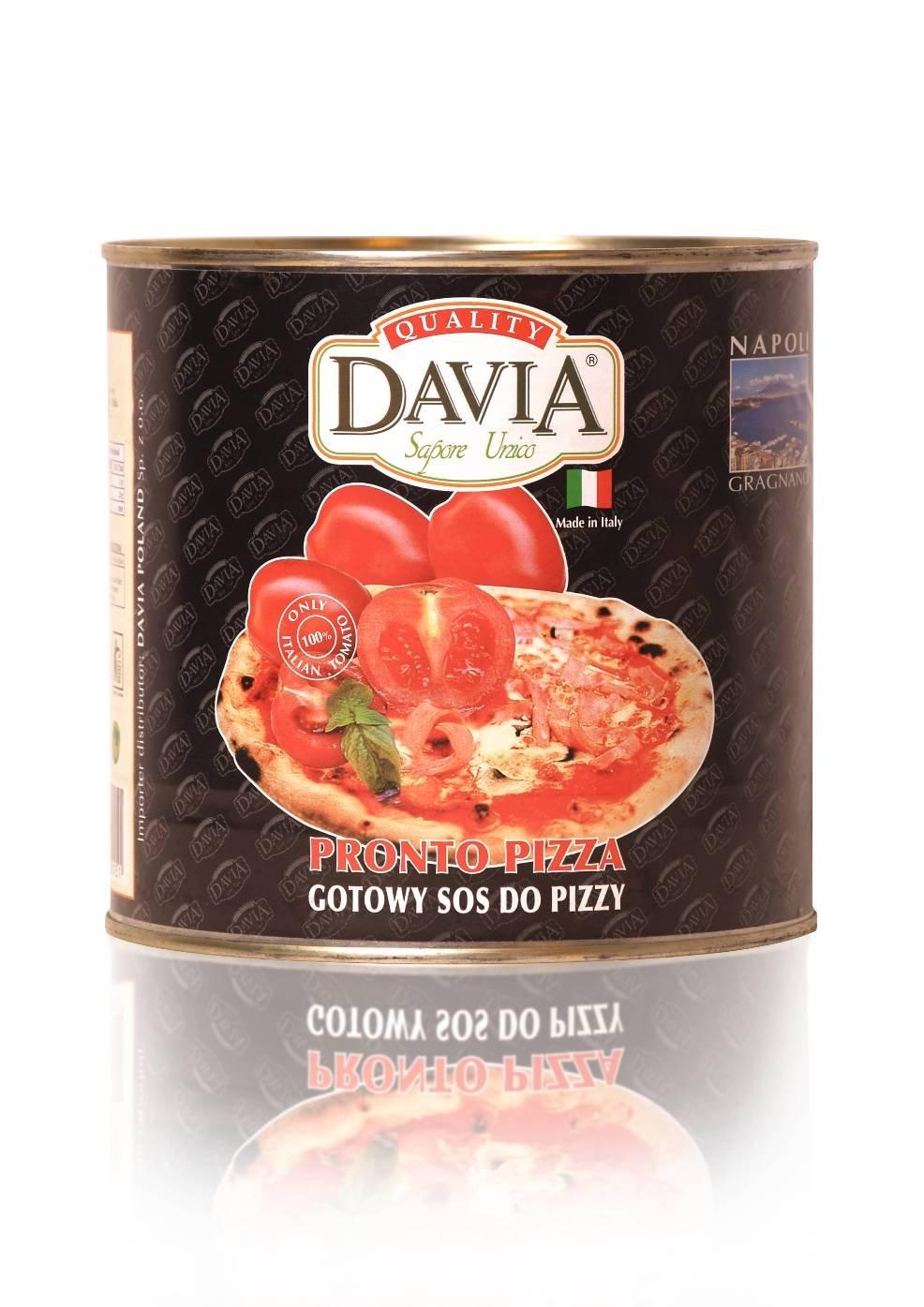 Pizza sauce from Poland Poland , Pizza sauce manufactory Davia Srl