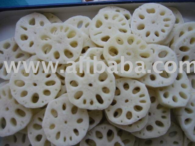 IQF Lotus Root Slice