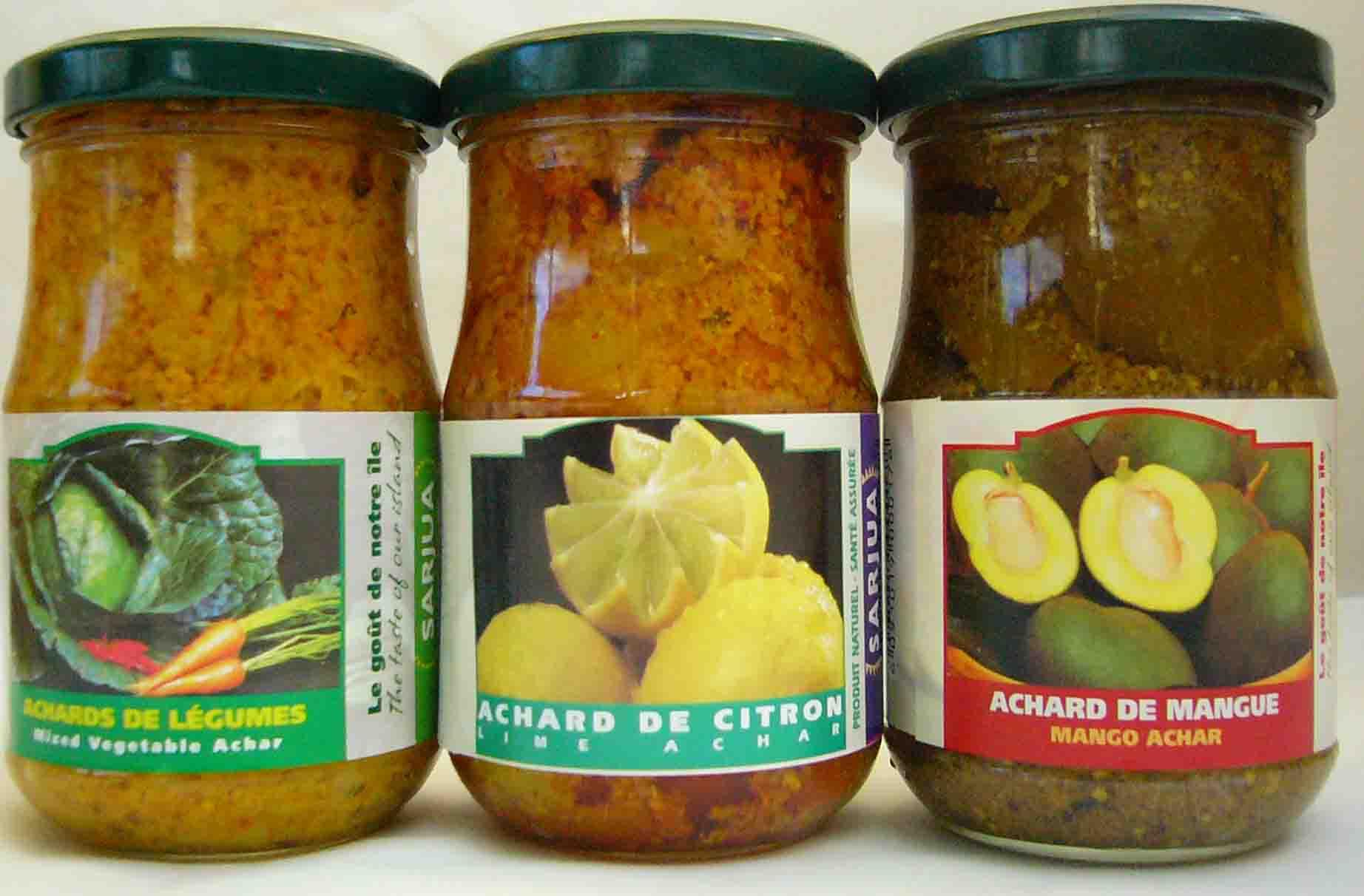 Pickles-Mango, Lime, Vegetable