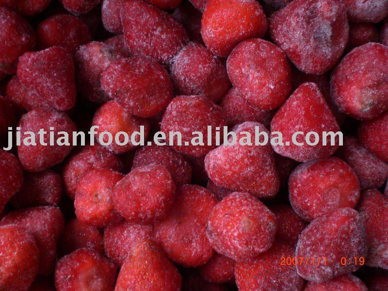 frozen  strawberrys