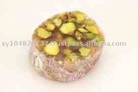 Turkish   Delight   Pistachio  Round