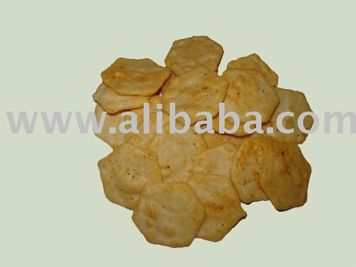 Rice Crackers (hexagonal crackers)