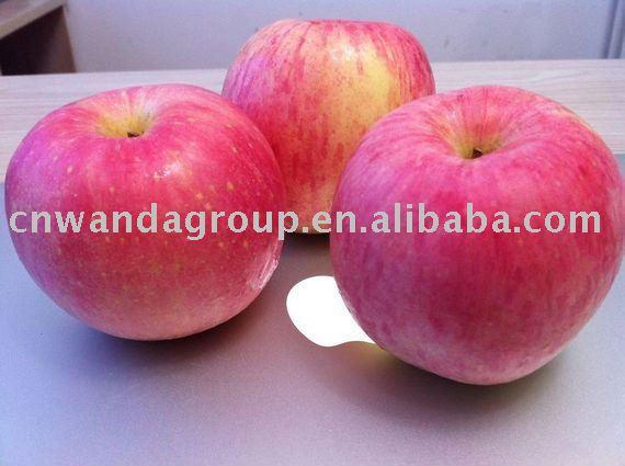 water -cleaned fuji apple