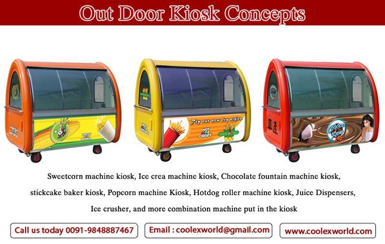 mobile kiosk india