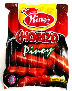 SAUSAGES--Chorizo Pinoy