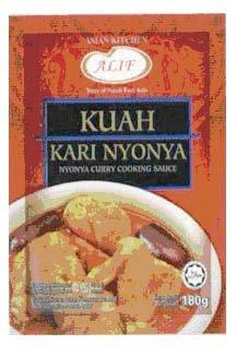 snack :  Kuah Kari Nyonya