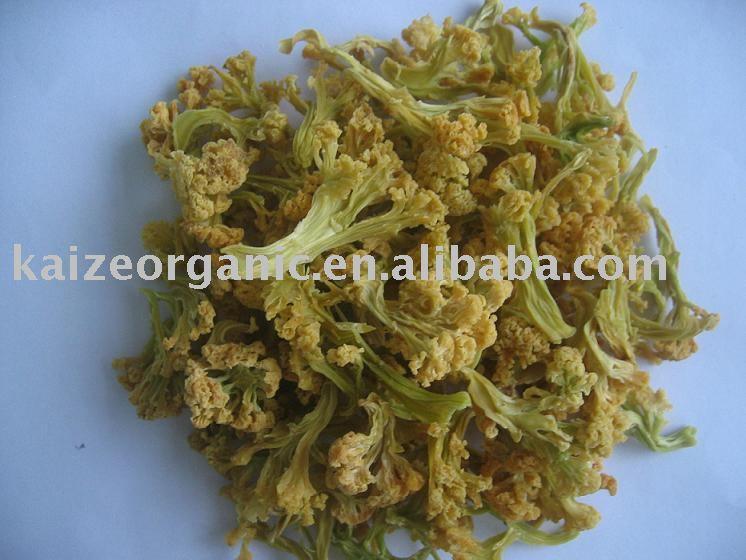 Dried vegetable, Cauliflower Florets