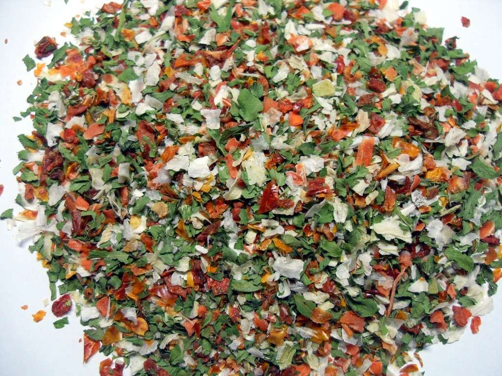 dehydrated vegetables - photo #5