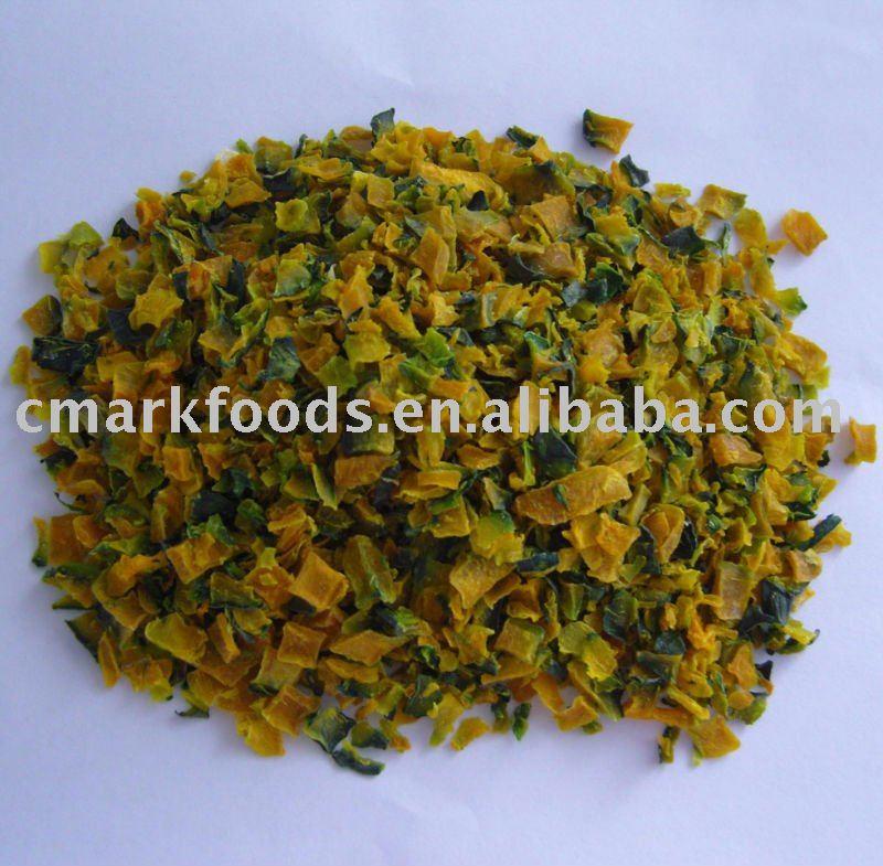 Dehydrated pumpkin granules