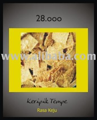 Keripik Tempe Keju snacks