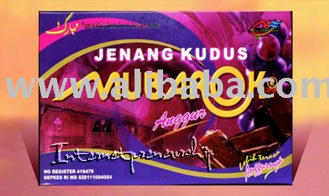 Jenang Kudus Mubarok with Flavors: Grape (Indonesian Traditional Soft Cake)