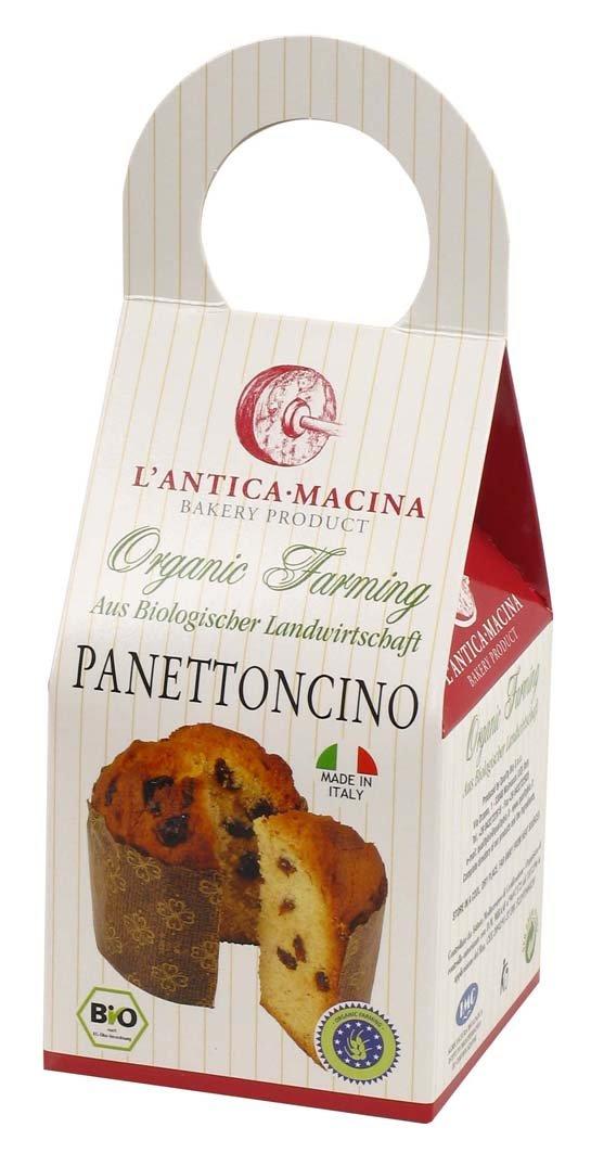 Panettoncino (organic bakery, organic goods, organic food, organic panettoncino, wheat panettoncino,