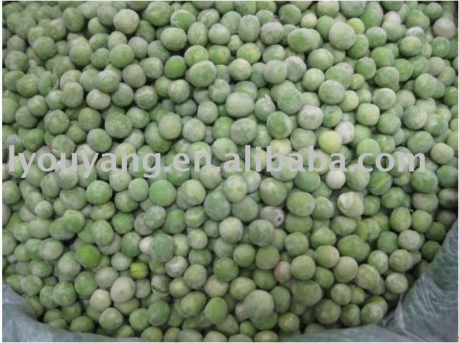 freezing drying green peas